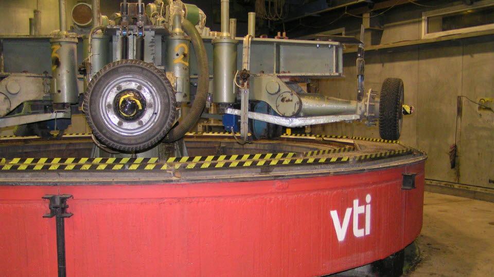 VTI:s provvägsmaskin.