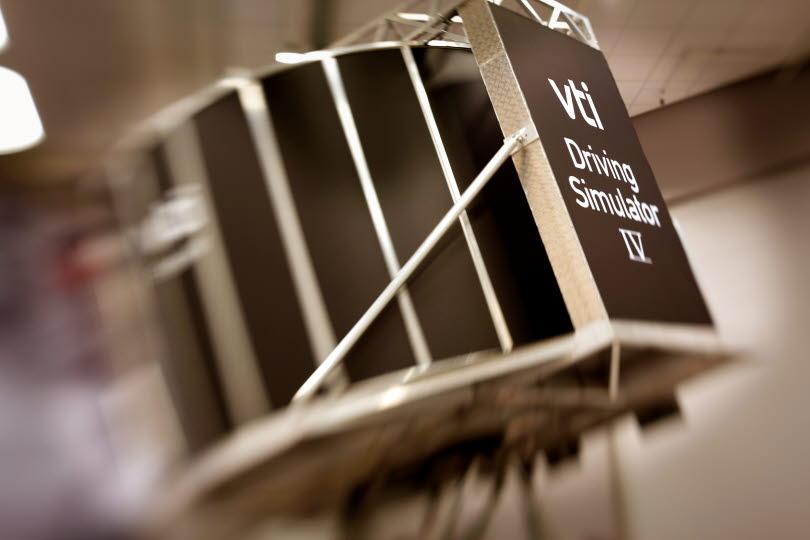 Körsimulator IV finns på VTI:s kontor i Göteborg
