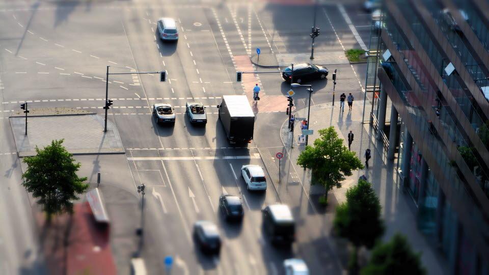 Trafik i korsning